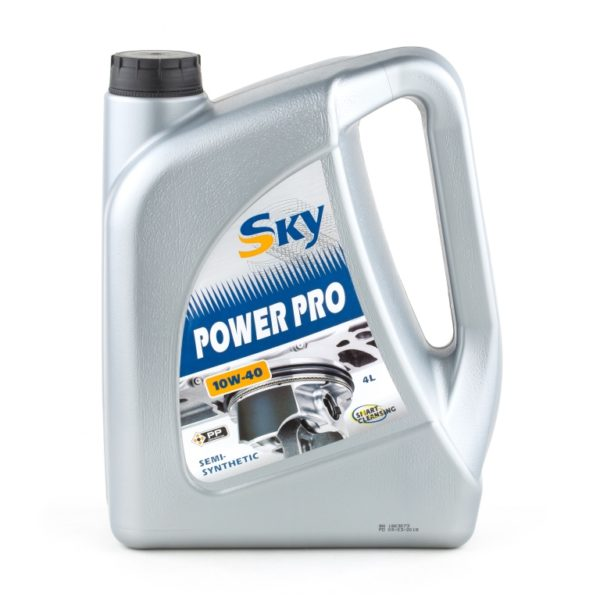 Sky Power Pro 10W-40, масло скай