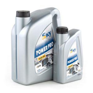 Моторные масла для легковых автомобилей SKY Power Pro