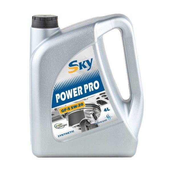 Моторное масло Sky Power PRO GF-5 5W-20